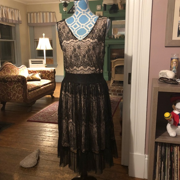 Forever 21 Dresses Nwt Black Lace 20s Flapper Dress 2x Poshmark